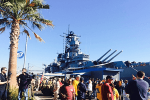 Battleship IOWA & Harbor Cruise