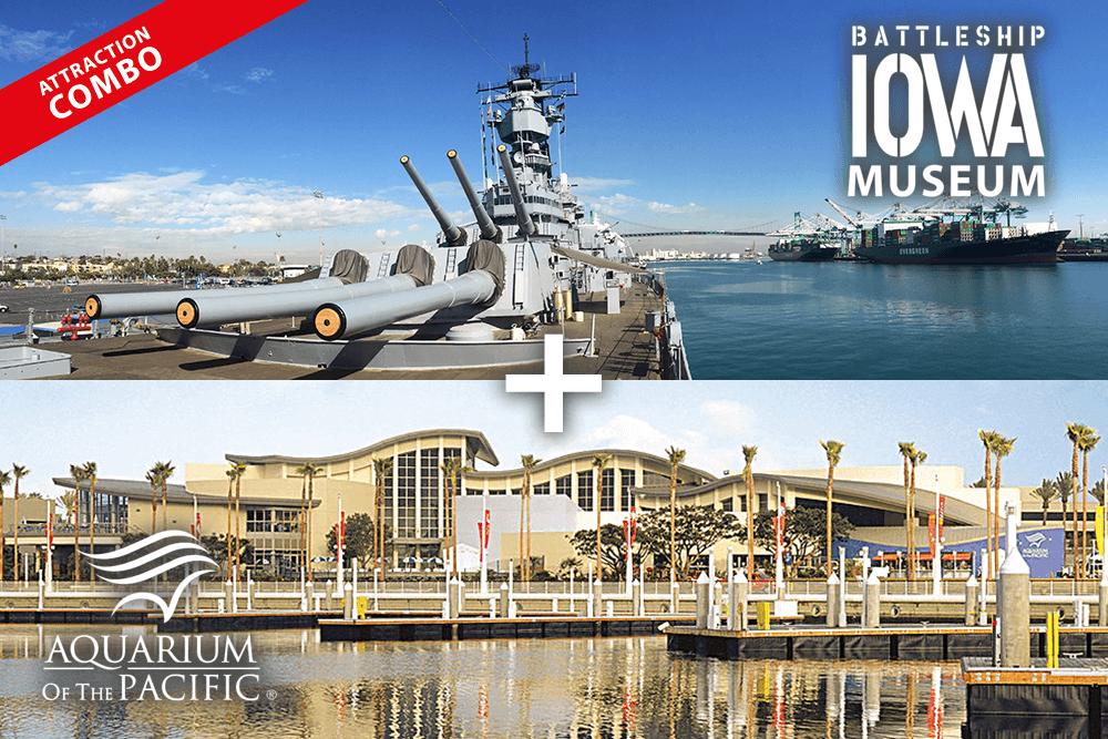 Battleship IOWA & Aquarium of the Pacific | 20% off with