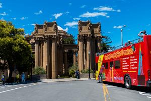 San Francisco – 24 Hrs Hop-On Hop-Off Tour sights
