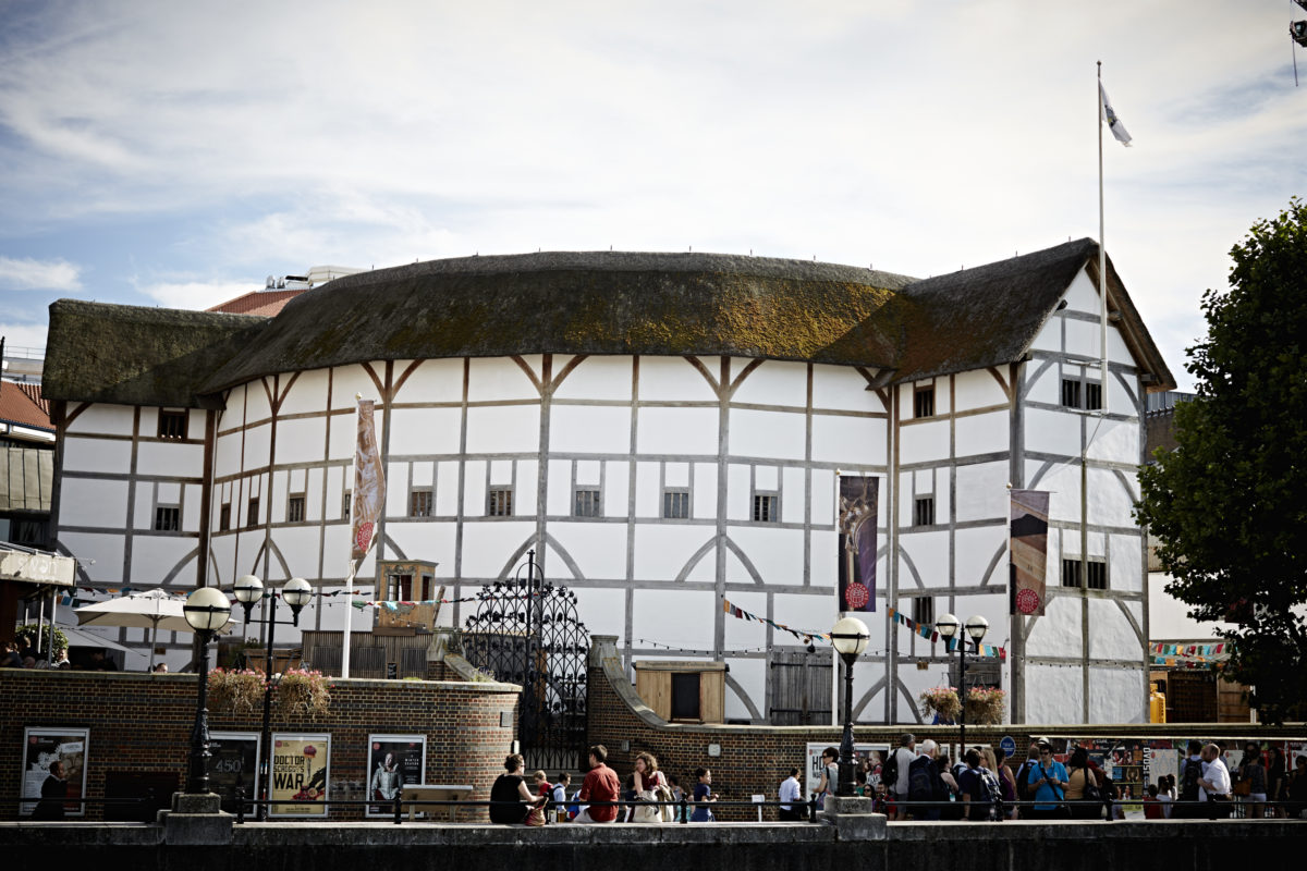 Image result for globe theatre london