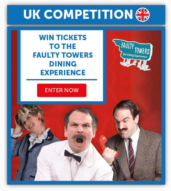 June Competition | UK | June | Faulty Towers | Smartsave