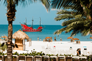 The Sea Screamer Boat Ride and Clearwater Beach Trip