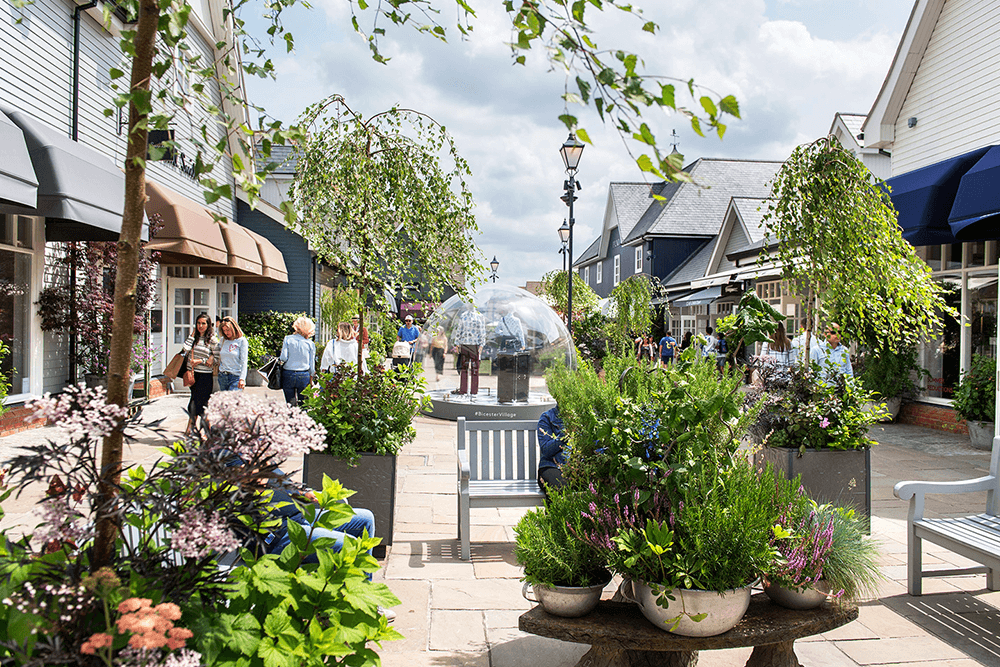 When you think of summer activities, think of The Bicester Village Shopping Express