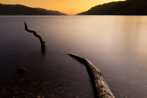 Scottish Highlands and Loch Ness Monster