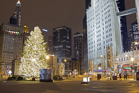 Chicago's Holiday Lights Tour