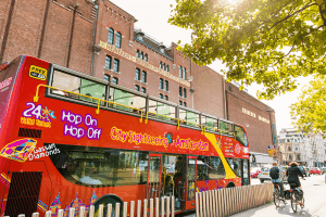 Amsterdam Hop On Hop Off Bus Tour City Sightseeing