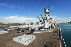 fleet week - battleship iowa