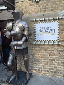 The Medieval Banquet London Entrance