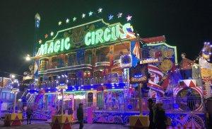 Roller coaster Winter Wonderland