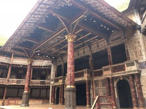 Shakespeare's Globe stage theatre