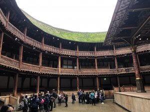 Shakespeare's Globe inside guided tour
