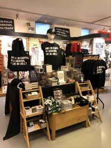Shakespeare's Globe gift shop